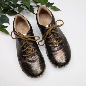 Alegria Essence Faux Snake Skin Lace Up Sneakers